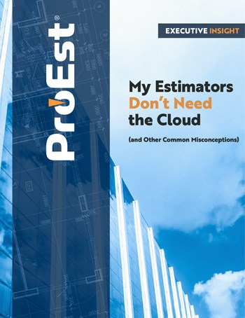 My Estimators Don't need the Cloud
