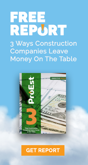Executive Insight - 3 Ways Construction Companies Leave Money On The Table.