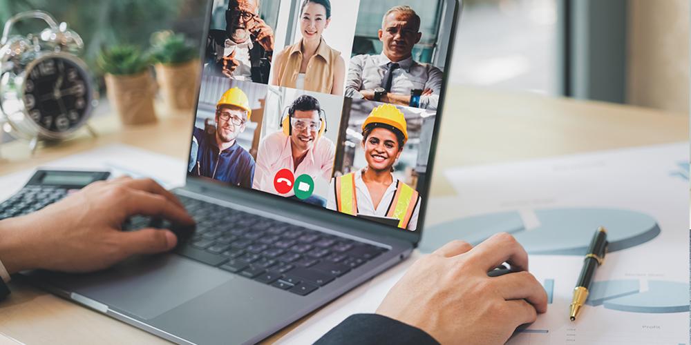 Construction Video Call