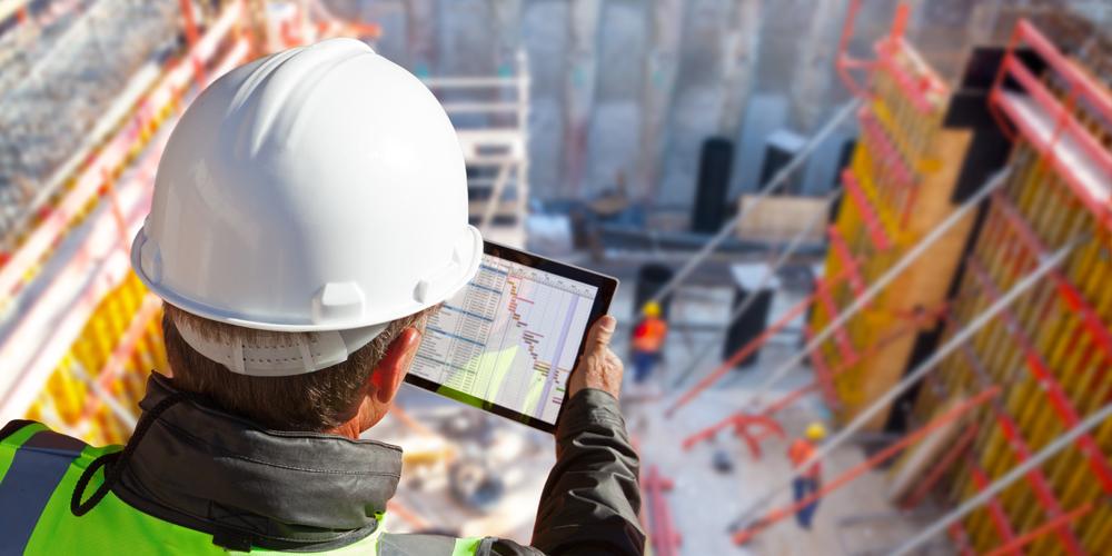 Construction Estimator Tablet Onsite