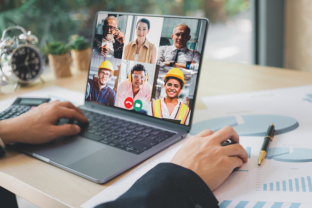 Preconstruction Team On Video Call