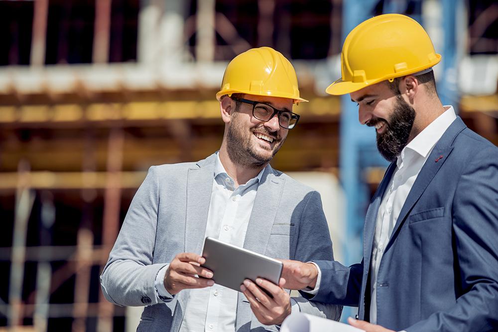 Construction Estimator Reviewing Estimate