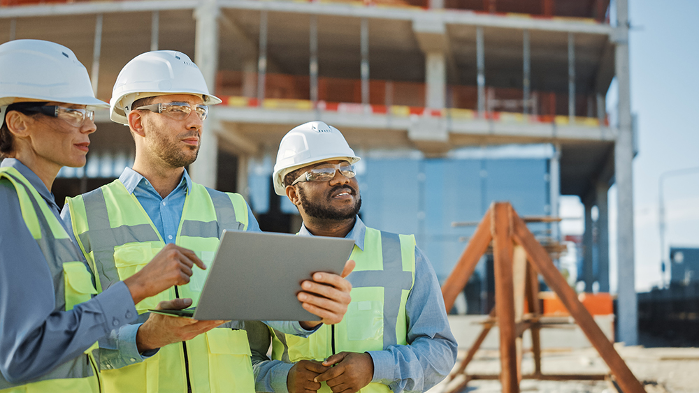 Construction Project Managers Onsite